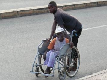 Wheelchair boys